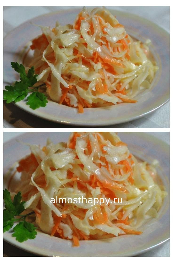 Маринованная капустка с пряностями по корейски