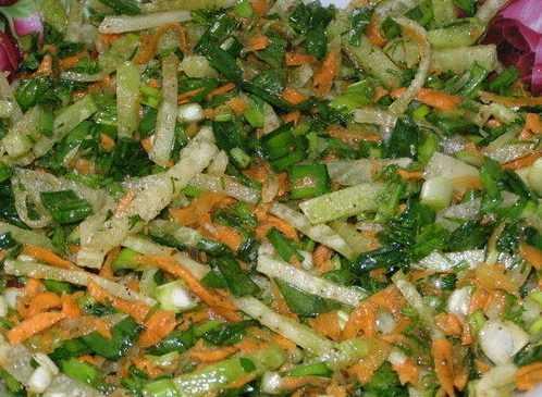 Салат с редькой маргеланской: рецепты приготовления