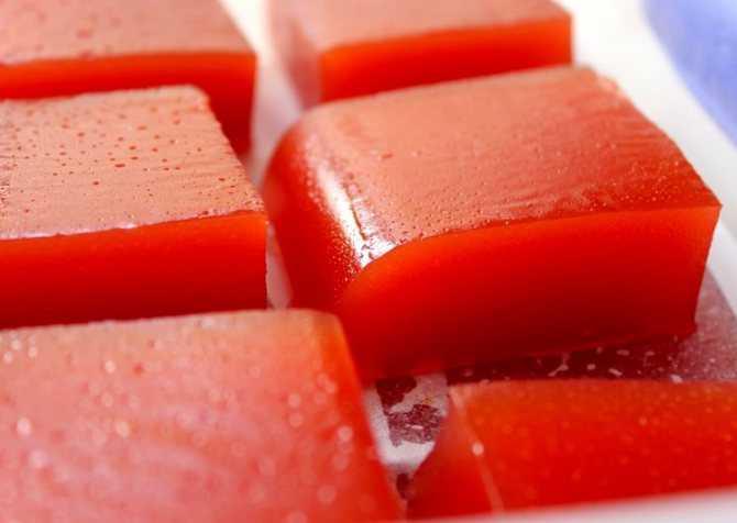 Как приготовить мармелад из айвы в домашних условия