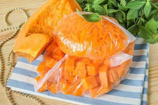 Заморозка тыквы кусочками или в виде готового пюре. как заморозить тыкву сырую, запеченную и что из нее приготовить