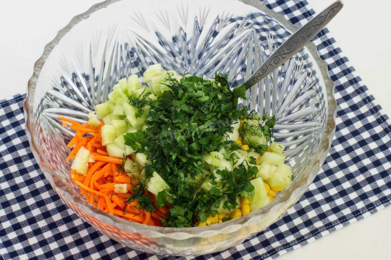 10 рецептов вкусного салата с корейской морковью и курицей