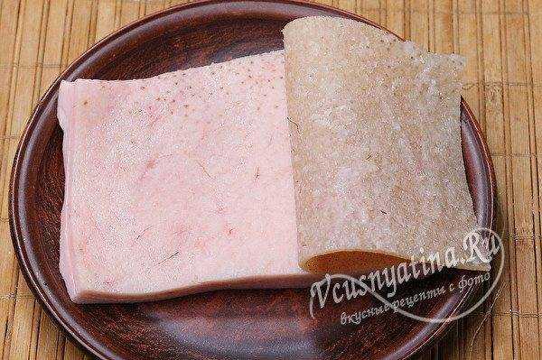 Закуска из сала с чесноком: все гениальное просто