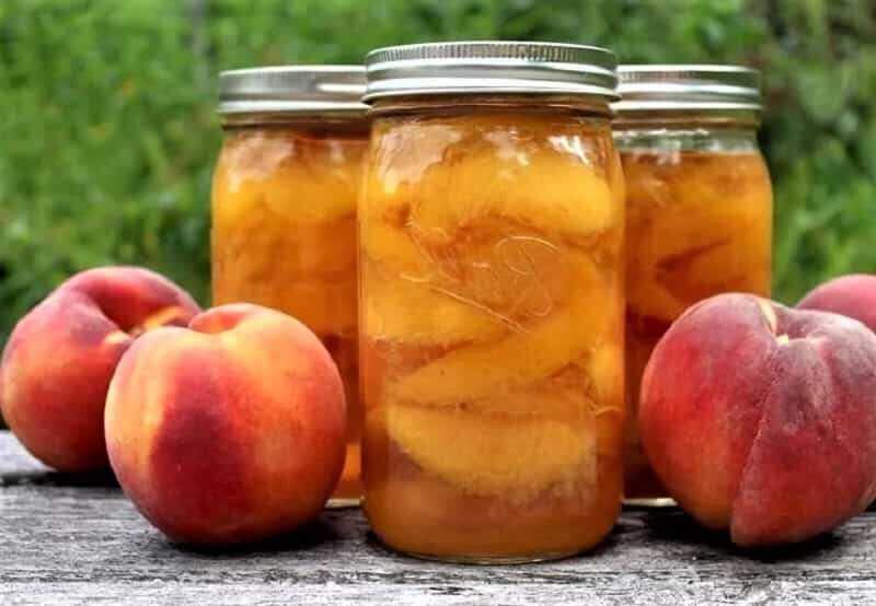 Консервированные персики в сиропе. пошаговый рецепт с фото — ботаничка.ru