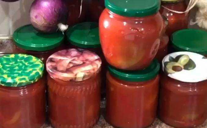 Лечо на зиму без моркови - 10 самых вкусных рецептов