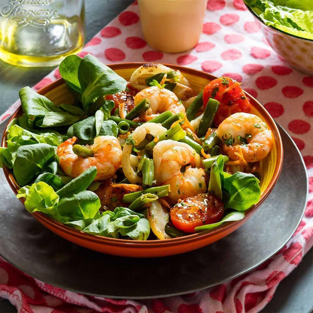 Салат из морепродуктов — эксклюзивное удовольствие для гурманов: рецепт с фото и видео