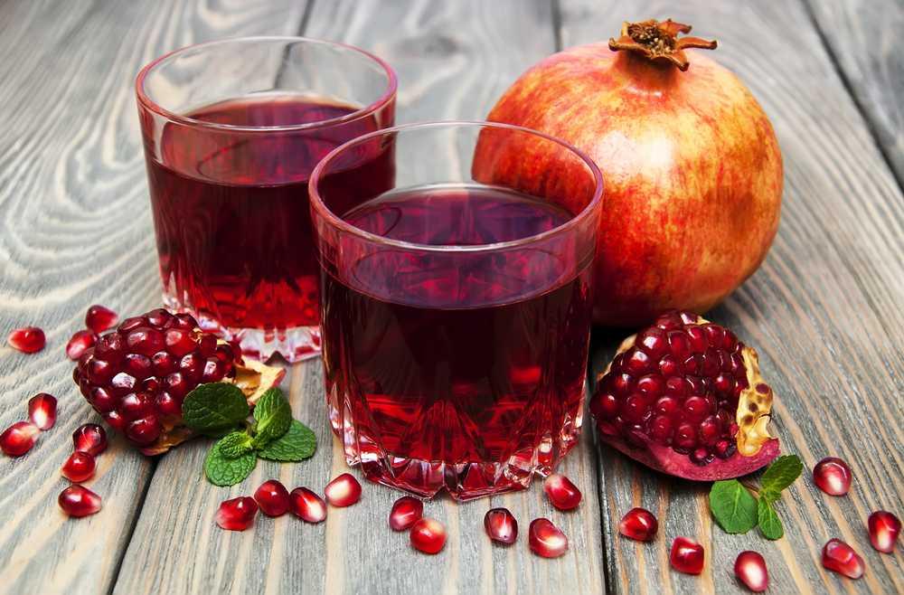 Гранатовый сок: калорийность, польза и вред для организма . милая я