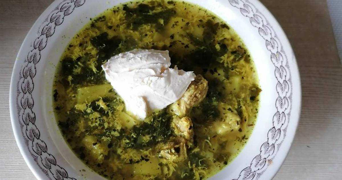 Щавелевый суп с яйцом — классические пошаговые рецепты супа из щавеля