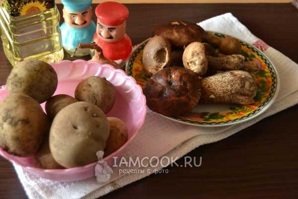 Как приготовить грибы подосиновики жареные с картошкой и луком, рецепт с фото, сколько варить перед жаркой - сад и дача