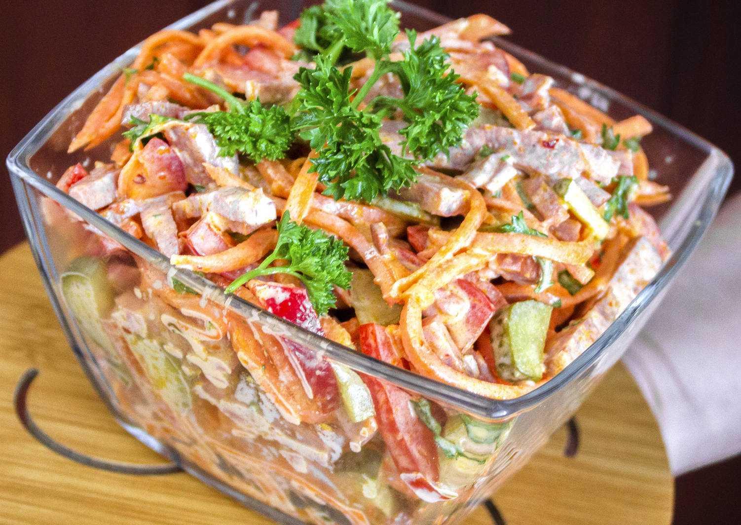 Салат купеческий - 20 рецептов: салаты   foodini