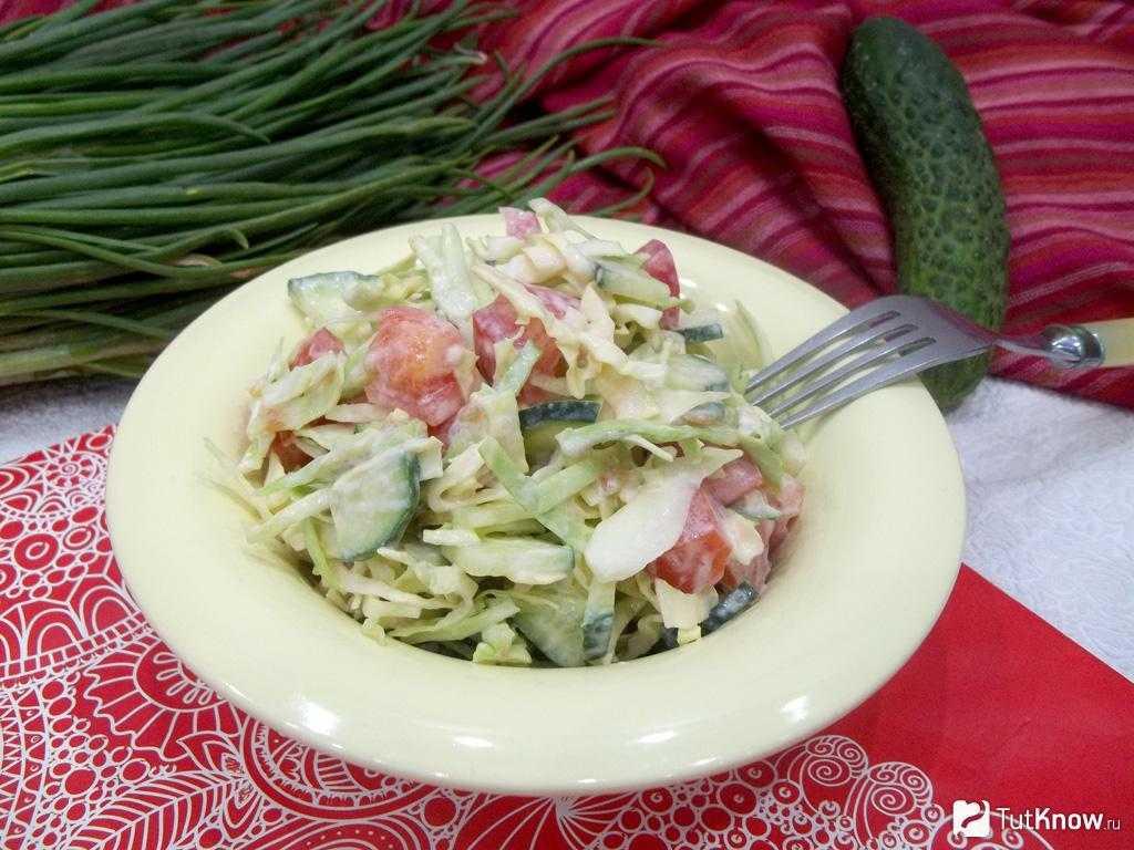 Летние салаты – 30+ рецептов с фото — самый смак