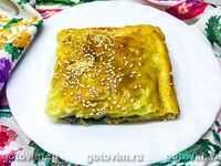 Открытый пирог с лисичками рецепт. слоеный пирог с лисичками. приготовление пирога с грибами в картинках