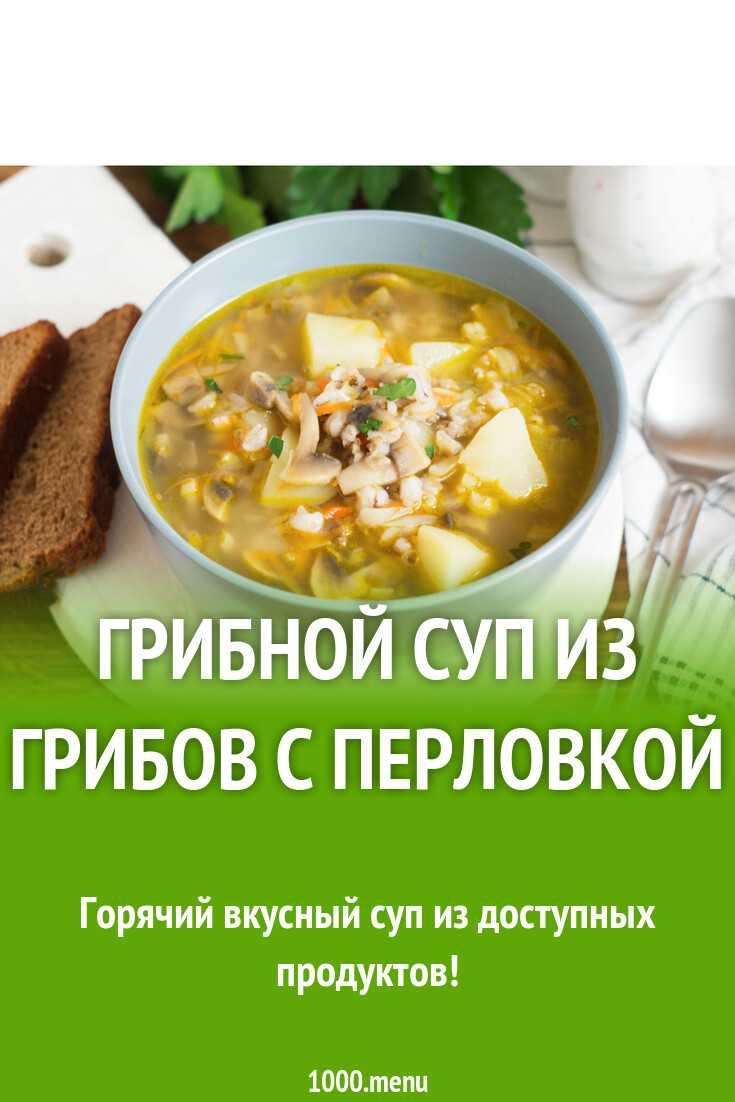 Грибной суп из сухих грибов – ароматное и сытное блюдо: рецепт с фото и видео