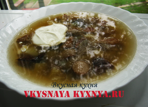 Суп из замороженных подберезовиков: длительность приготовления грибов. Наиболее популярные рецепты, нюансы. Калорийность и пищевая ценность блюда.
