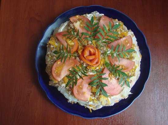 Салат нептун. 7 рецептов приготовления салата с морепродуктами - будет вкусно! - медиаплатформа миртесен