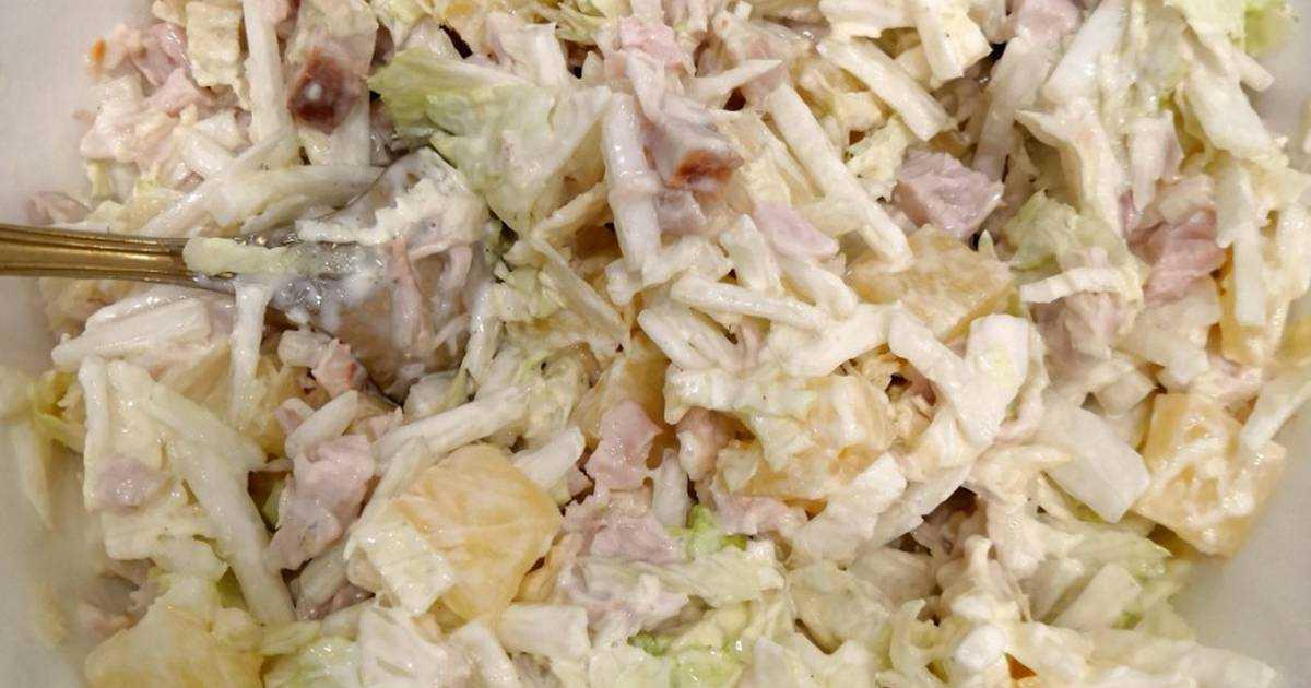 Салат из пекинской капусты с курицей: вкусные рецепты