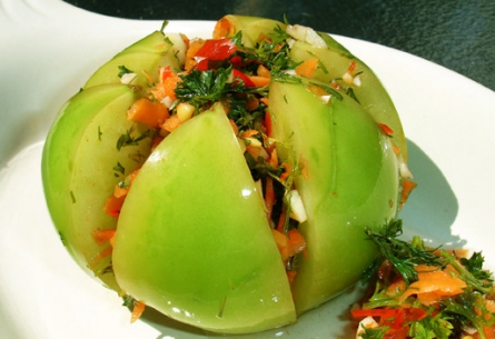 Квашеные и солёные зеленые  помидоры без уксуса  -  заготовки от перчинки - perchinka hozyayushka.ru