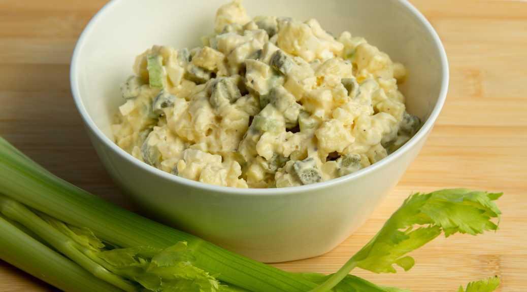 Картофельный салат по американски