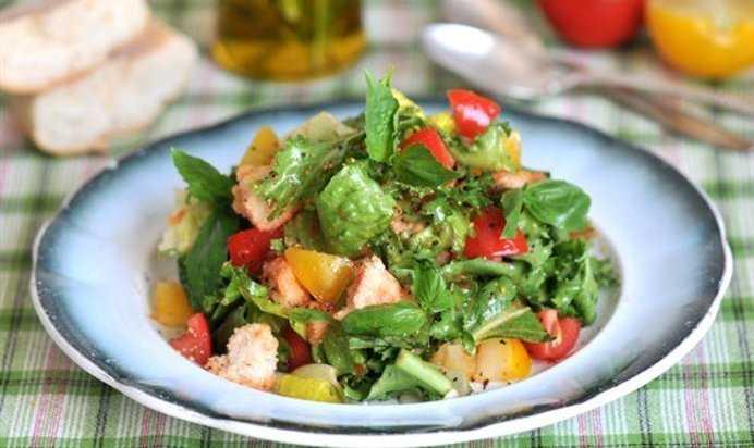 Панцанелла - пошаговый рецепт с фото    салаты
