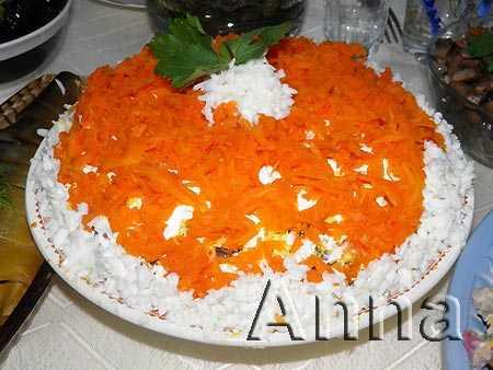 Салат лисья шубка - всегда порадует гостей: рецепт с фото и видео