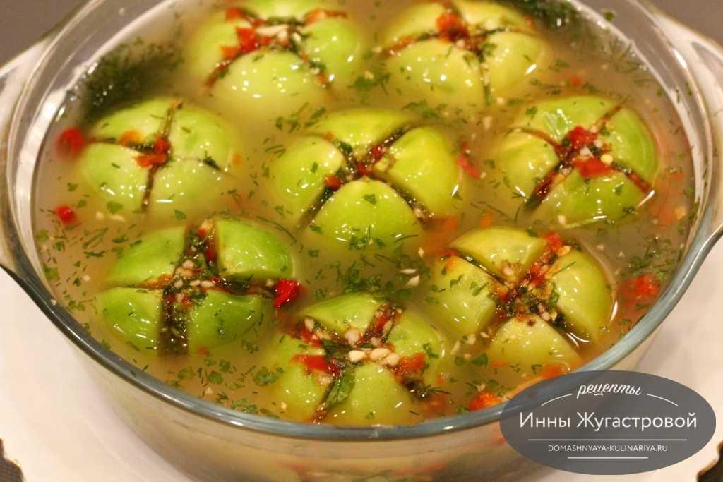 Квашеные зеленые помидоры: лучшая подборка проверенных рецептов – как солить зеленые помидоры на зиму » сусеки