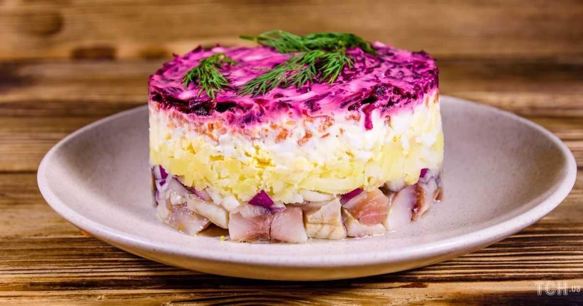 Салат курица под шубой: классический рецепт со свеклой, попробуйте новинку