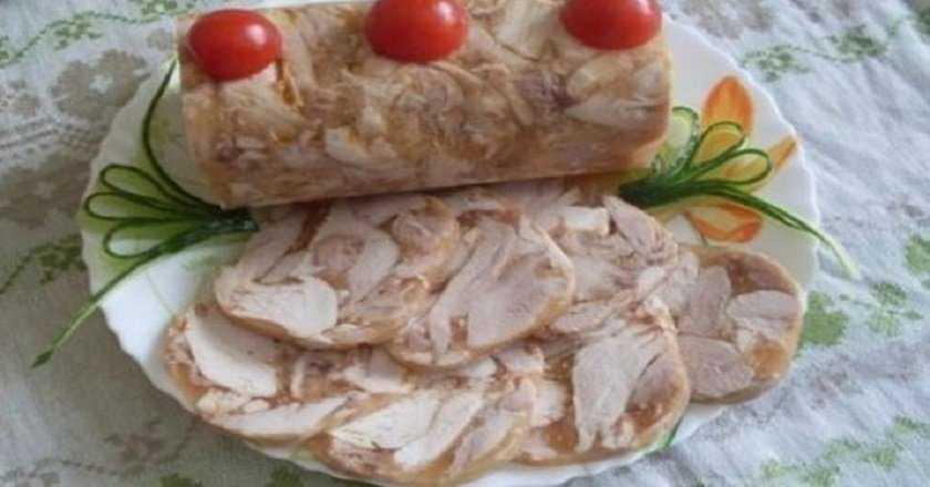 Колбаса из курицы в домашних условиях из кишок