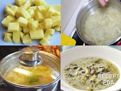 Суп с солеными груздями и мясом. рецепт супа из соленых груздей