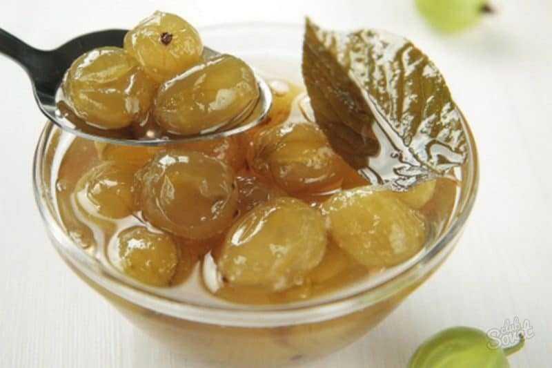Варенье из крыжовника - рецепты приготовления на зиму - царское, с апельсином, с вишневыми листьями, пятиминутка