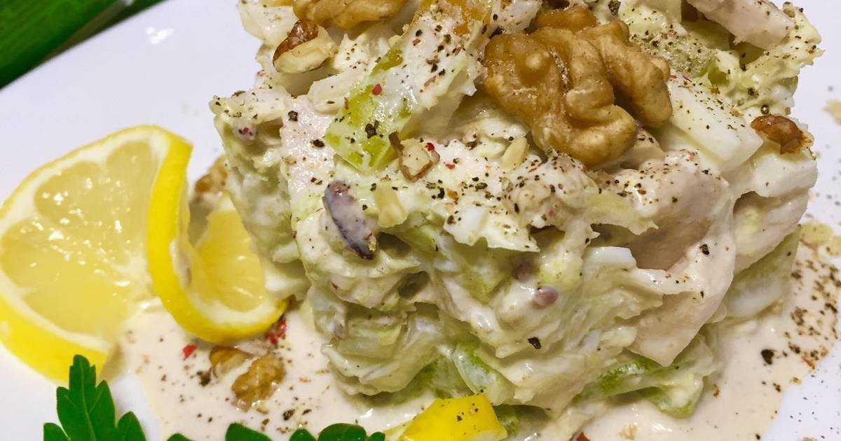 Салат из сырых овощей с орехами рецепт с фото пошагово - 1000.menu