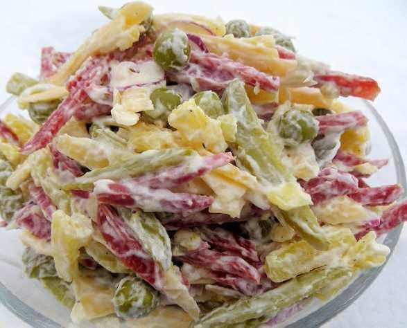 Салат охотничий на зиму рецепт с фото пошагово - 1000.menu