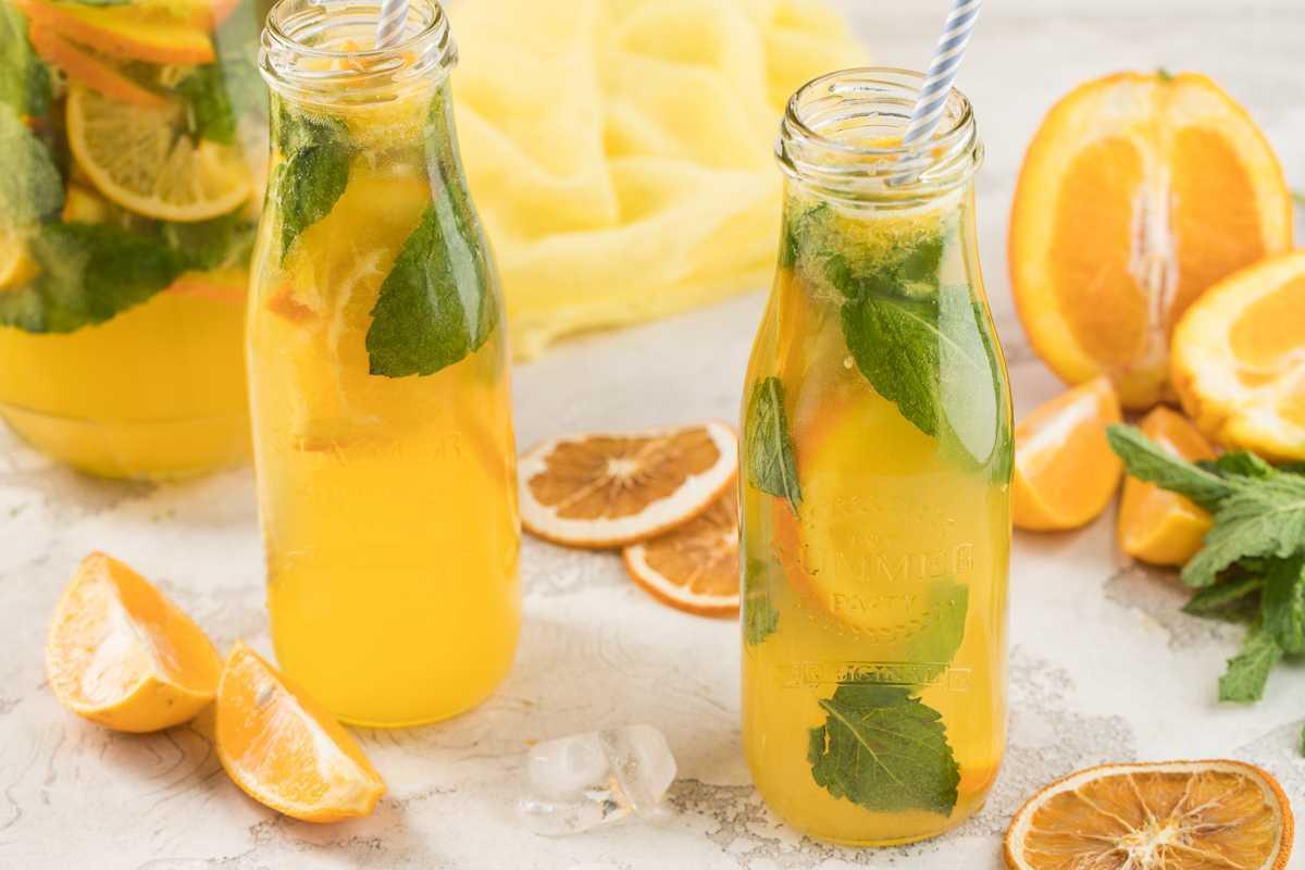 Домашний лимонад мохито