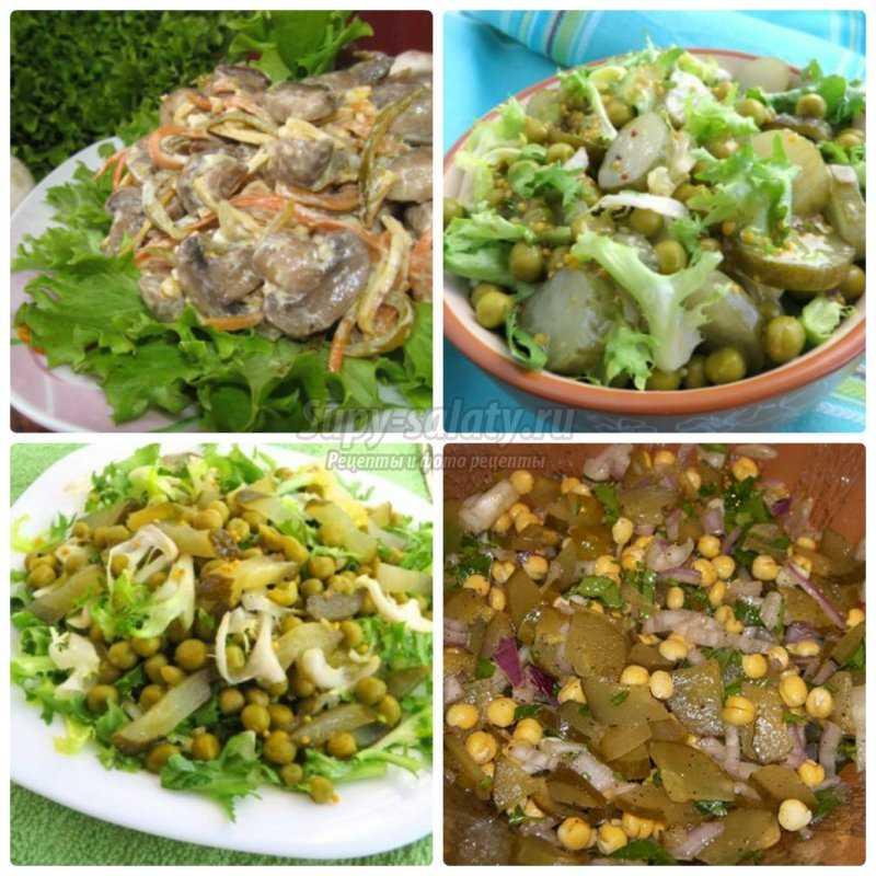 Вкусные и полезные салаты на новый год. новые рецепты.
