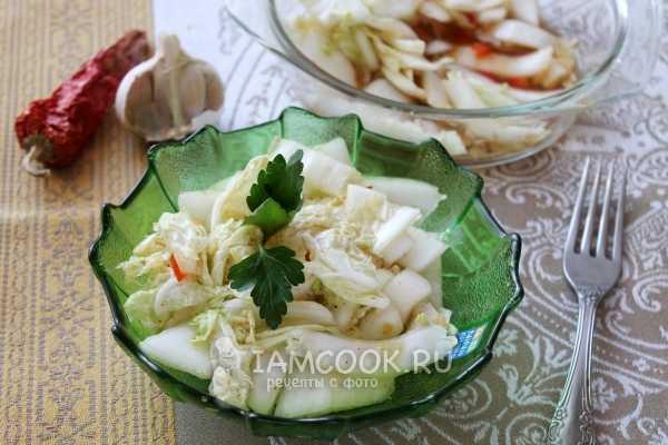 Маринад для капусты по-корейски - многообразие рецептов
