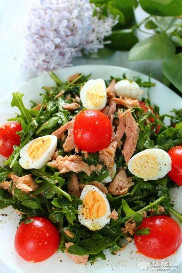 Испанский салат с тунцом и картофелем рецепт с фото пошагово - 1000.menu