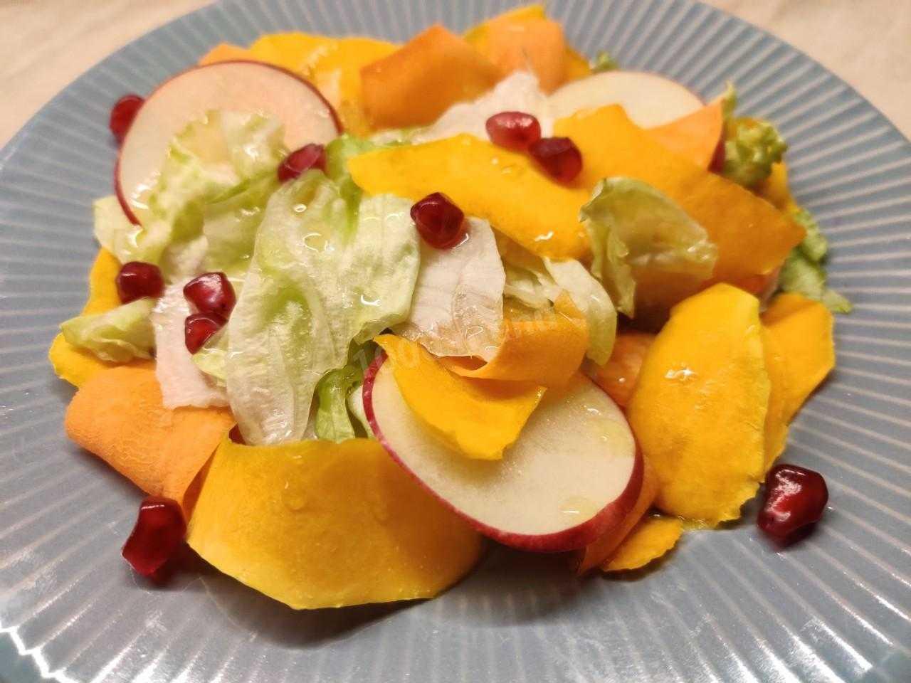 Полезные салаты из тыквы: 9 диетических рецептов
