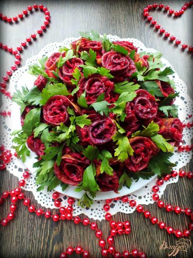 Топ 10 цветочных салатов
