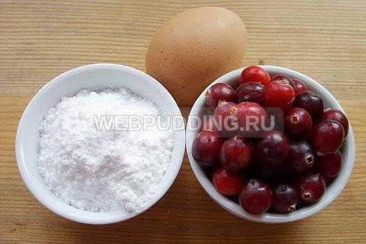 Рецепты клюквы в сахаре с белковой глазурью и со сладким сиропом