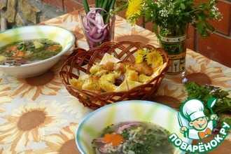 Как вкусно приготовить клецки для супа