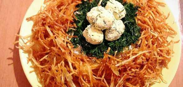 Салат «гнездо глухаря» классический: рецепты
