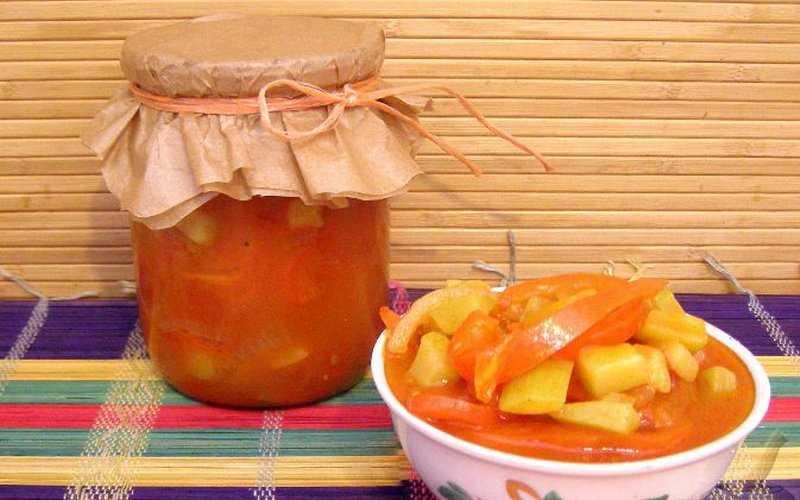 5 рецептов лечо с потрясающим вкусом и ярким ароматом