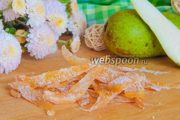 Сухофрукты и цукаты в домашних условиях
