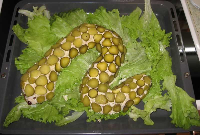 Салат змейка - 27 рецептов: салаты | foodini