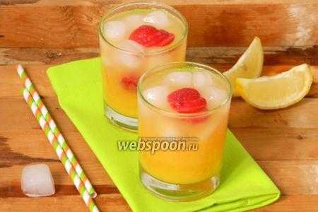 Домашний лимонный напиток: рецепт
