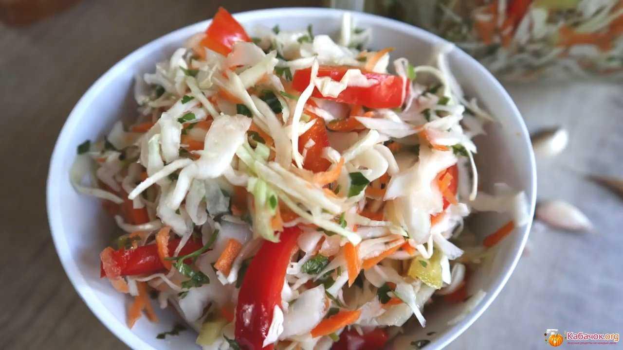 Маринованная капуста с болгарским перцем: рецепты заготовок на зиму   рутвет - найдёт ответ!