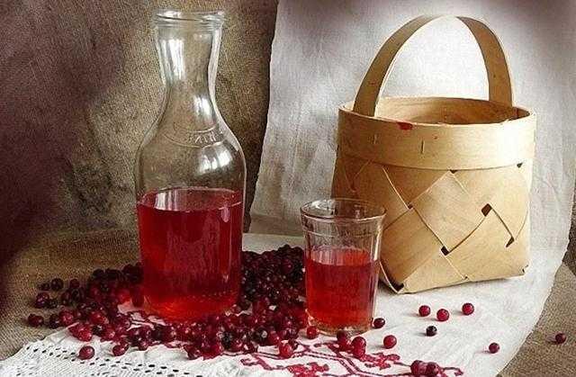 Технология приготовления брусничного вина