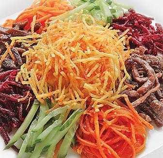 Праздничный салат «чафан»
