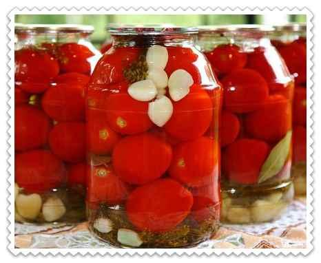 Маринованные помидоры по-болгарски на зиму