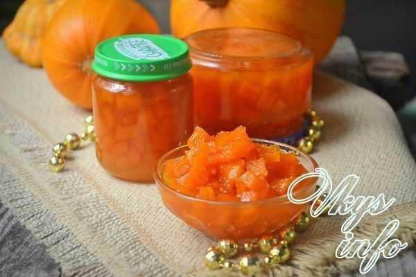 Компот из тыквы: натуральный витаминный напиток на зиму