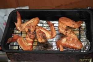 Копчение куриных крылышек в коптильне горячего копчения рецепт