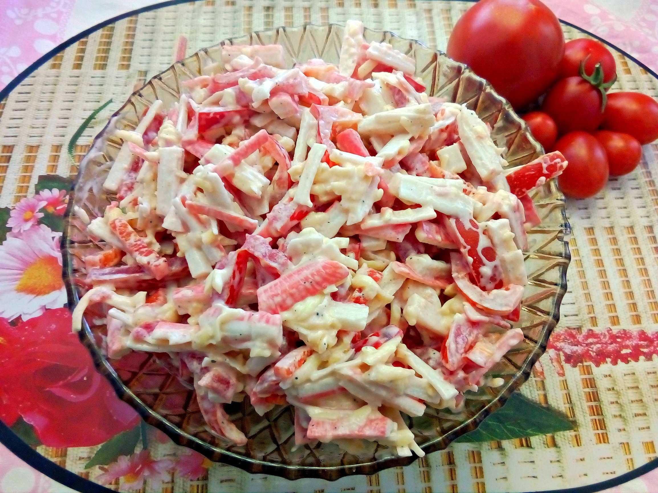 Салаты с помидорами и сыром. 10 рецептов как приготовить вкусный закусочный салат